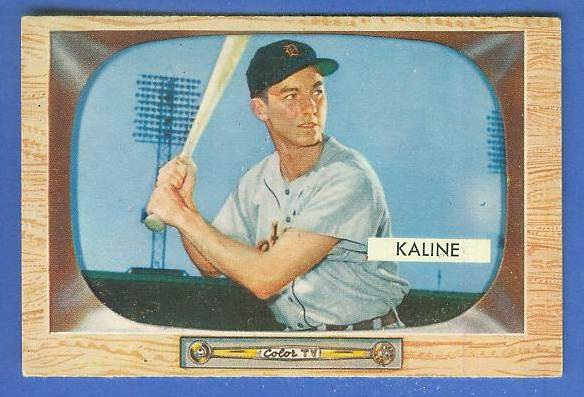 1955 Bowman #.23 Al Kaline [#b] (Tigers) Baseball cards value