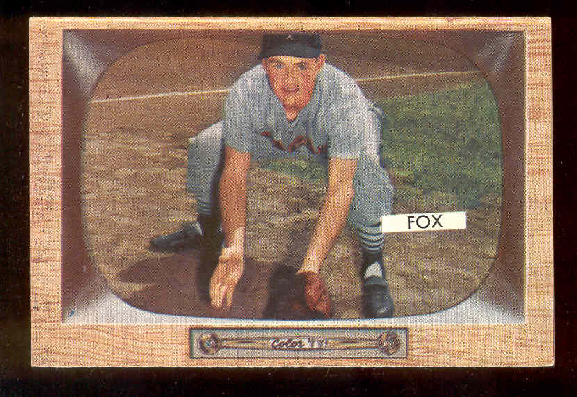 1955 Bowman #.33 Nellie Fox (White Sox) Baseball cards value