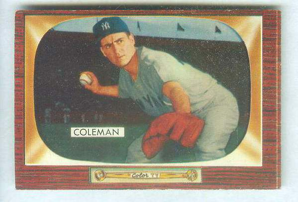1955 Bowman #.99 Jerry Coleman [#c] (Yankees) Baseball cards value