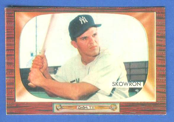 1955 Bowman #160 Bill Skowron [#a] (Yankees) Baseball cards value