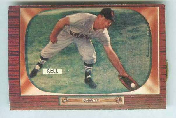 1955 Bowman #213 George Kell [#a] (White Sox) Baseball cards value