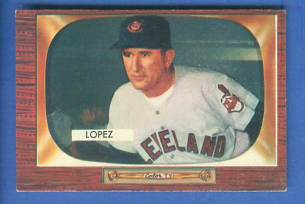 1955 Bowman #308 Al Lopez MGR SCARCER HIGH NUMBER (Indians) Baseball cards value