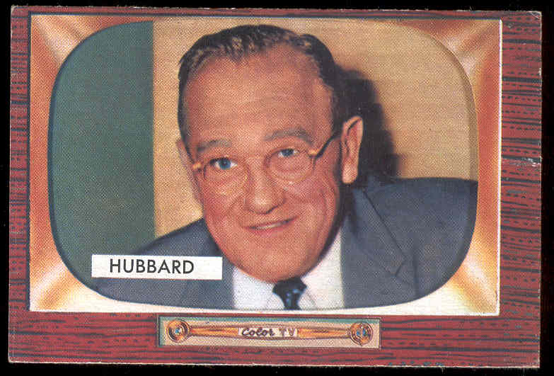 1955 Bowman #315 Cal Hubbard UMPIRE SCARCER HIGH NUMBER Baseball cards value