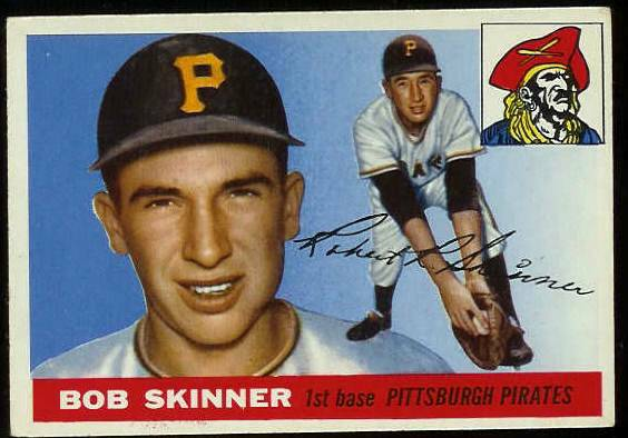 1955 Topps #.88 Bob Skinner ROOKIE (Pirates) Baseball cards value