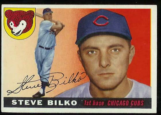 1955 Topps #.93 Steve Bilko (Cubs) Baseball cards value