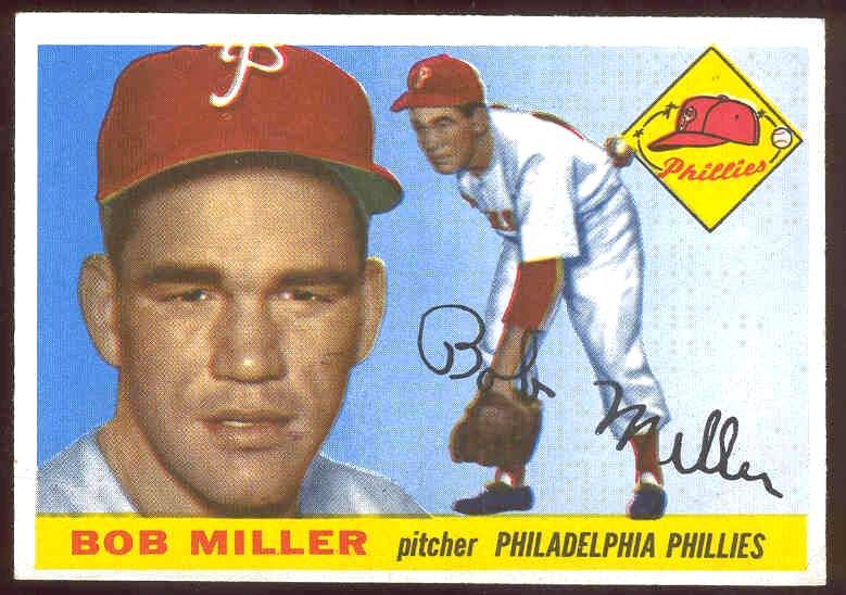 1955 Topps #157 Bob Miller HIGH NUMBER (Phillies) Baseball cards value