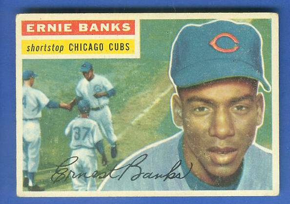 1956 Topps #.15 Ernie Banks (Cubs) Baseball cards value