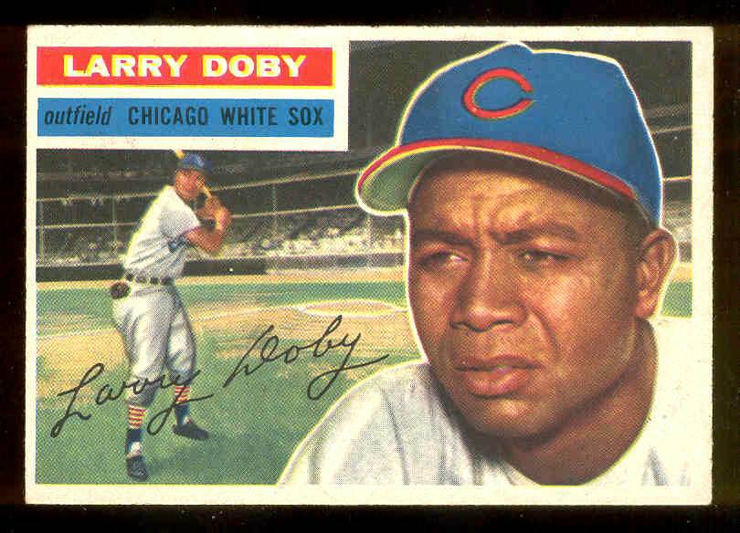 1956 Topps #250 Larry Doby [#a] (White Sox) Baseball cards value
