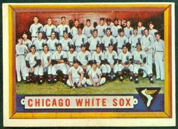 1957 Topps #329 White Sox TEAM card [#a] SCARCE MID SERIES Baseball cards value