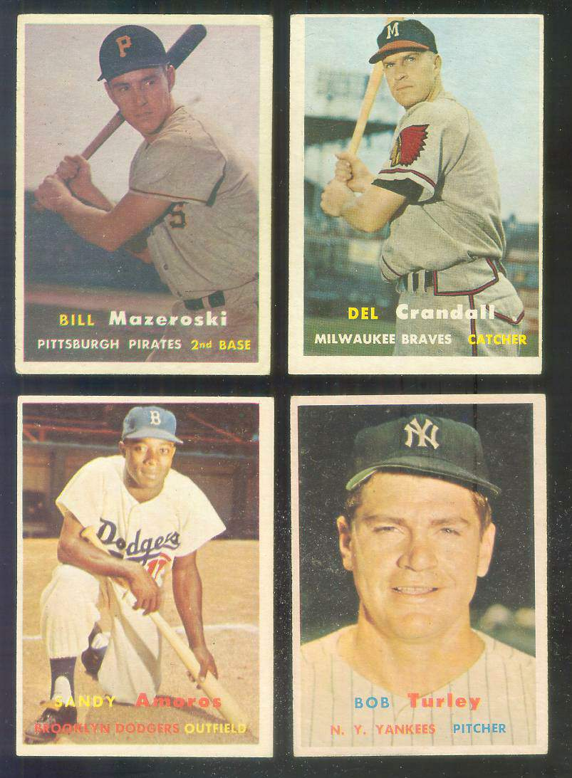 1957 Topps #.24 Bill Mazeroski ROOKIE (Pirates) Baseball cards value