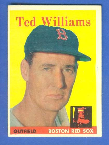 1958 Topps #..1 Ted Williams (Red Sox) Baseball cards value