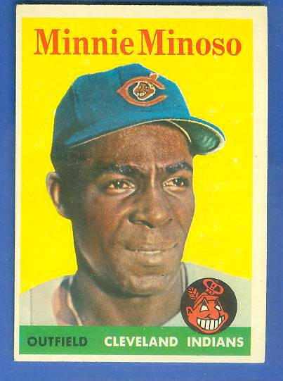 1958 Topps #295 Minnie Minoso (White Sox) Baseball cards value