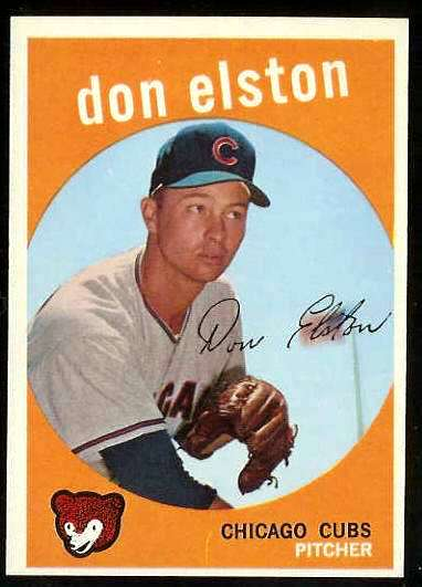 1959 Topps #520 Don Elston SCARCE HIGH #.[#a] (Cubs) Baseball cards value