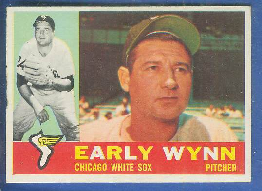 1960 Topps #..1 Early Wynn [#a] (White Sox) Baseball cards value