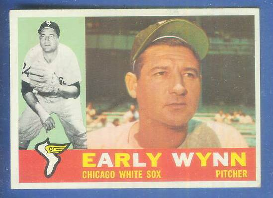 1960 Topps #..1 Early Wynn [#c] (White Sox) Baseball cards value