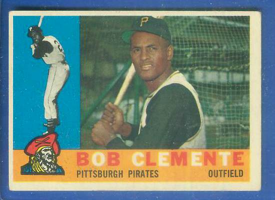 1960 Topps #326 Roberto Clemente [#a] (Pirates) Baseball cards value