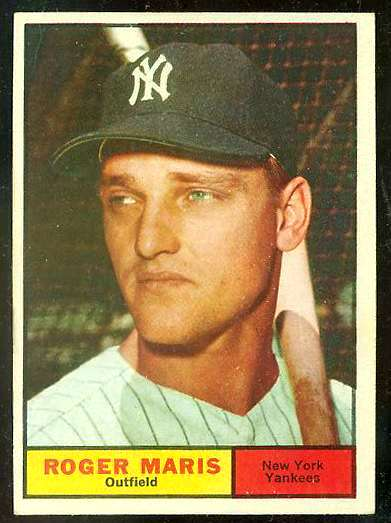 1961 Topps #..2 Roger Maris (Yankees) Baseball cards value