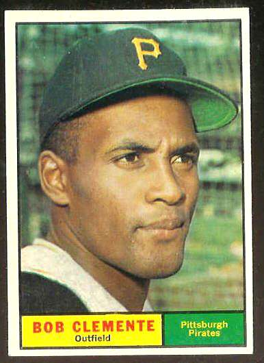 1961 Topps #388 Roberto Clemente [#c] (Pirates) Baseball cards value