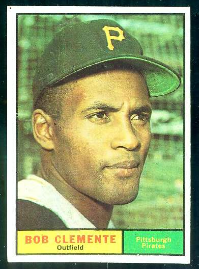 1961 Topps #388 Roberto Clemente [#d] (Pirates) Baseball cards value