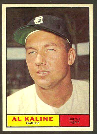 1961 Topps #429 Al Kaline [#b] (Tigers) Baseball cards value