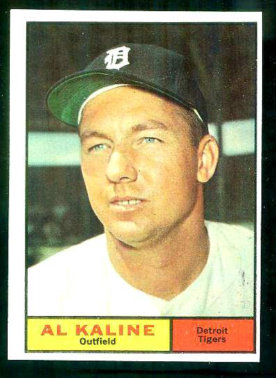 1961 Topps #429 Al Kaline [#d] (Tigers) Baseball cards value