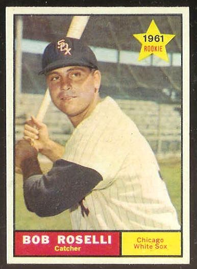1961 Topps #529 Bob Roselli SCARCE HIGH #.[#a] (White Sox) Baseball cards value
