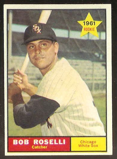 1961 Topps #529 Bob Roselli SCARCE HIGH #.[#b] (White Sox) Baseball cards value