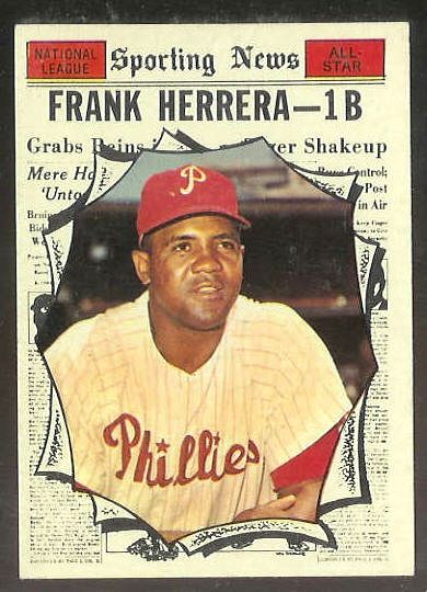 1961 Topps #569 Frank Herrera All-Star [#a] SCARCE HIGH #.(Phillies) Baseball cards value