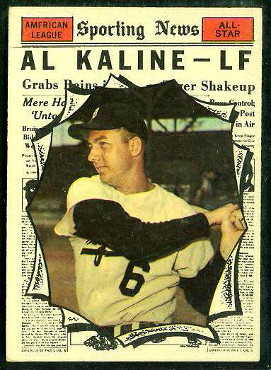 1961 Topps #580 Al Kaline All-Star SCARCE HIGH #.[#a] (Tigers) Baseball cards value