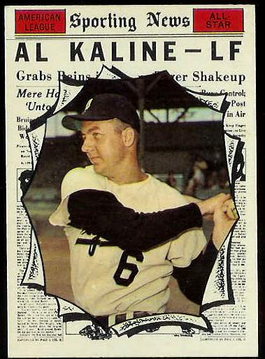 1961 Topps #580 Al Kaline All-Star SCARCE HIGH #.[#b] (Tigers) Baseball cards value