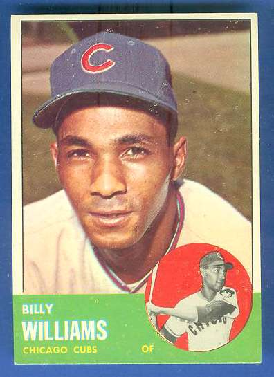 1963 Topps #353 Billy Williams [#a] (Cubs) Baseball cards value
