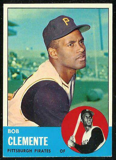 1963 Topps #540 Roberto Clemente [#d] SCARCE HIGH SERIES (Pirates) Baseball cards value