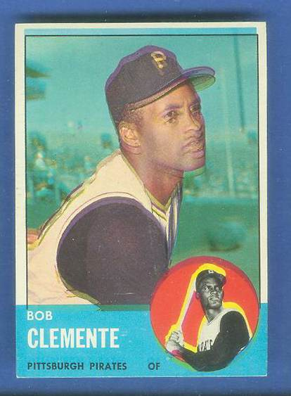 1963 Topps #540 Roberto Clemente [#e] SCARCE HIGH SERIES (Pirates) Baseball cards value