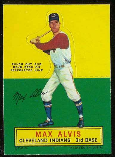 1964 Topps Stand-Ups/Standups - Max Alvis [#c] (Indians) Baseball cards value