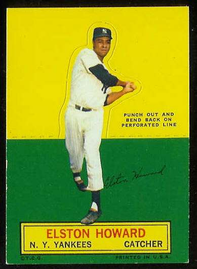 1964 Topps Stand-Ups/Standups - Elston Howard [#e] (Yankees) Baseball cards value