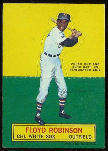 1964 Topps Stand-Ups/Standups - Floyd Robinson [#b] (White Sox) Baseball cards value