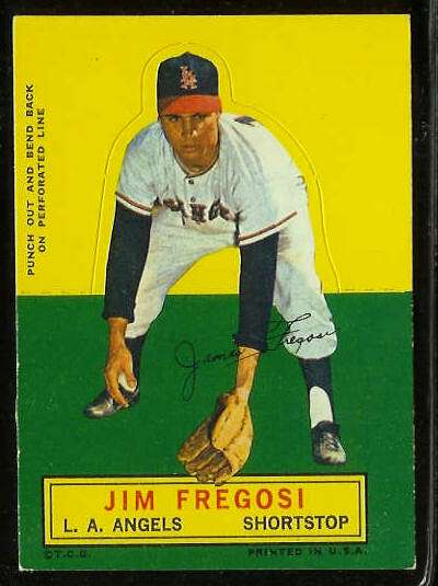 1964 Topps Stand-Ups/Standups - Jim Fregosi [#a] (Angels) Baseball cards value