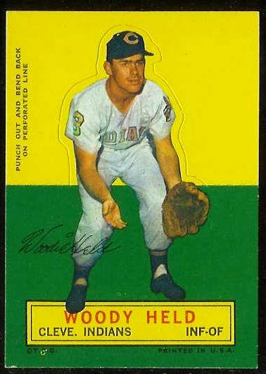 1964 Topps Stand-Ups/Standups - Woody Held [#b] (Indians) Baseball cards value