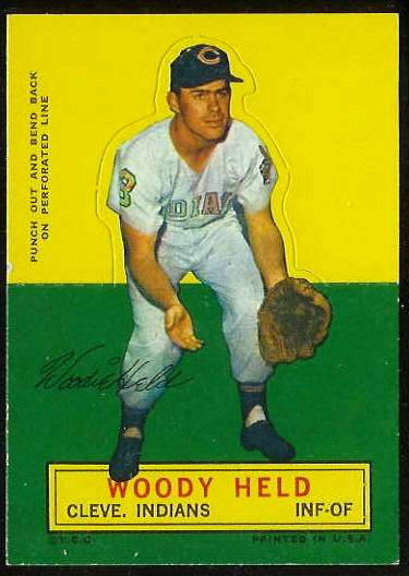 1964 Topps Stand-Ups/Standups - Woody Held [#c] (Indians) Baseball cards value