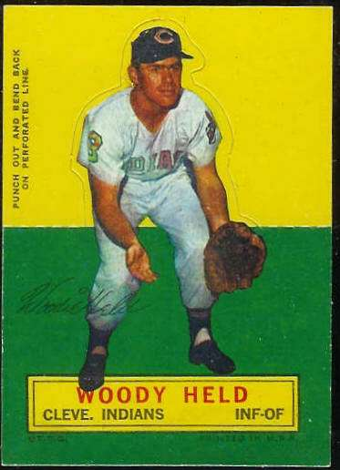1964 Topps Stand-Ups/Standups - Woody Held [#d] (Indians) Baseball cards value