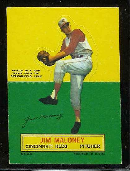 1964 Topps Stand-Ups/Standups - Jim Maloney [#b] (Reds) Baseball cards value
