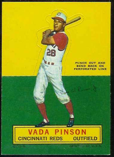 1964 Topps Stand-Ups/Standups - Vada Pinson (Reds) Baseball cards value