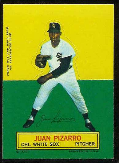 1964 Topps Stand-Ups/Standups - Juan Pizarro [#b] (White Sox) Baseball cards value