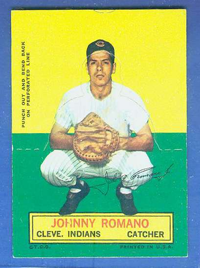 1964 Topps Stand-Ups/Standups - Johnny Romano [#c] (Indians) Baseball cards value