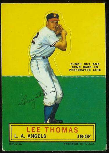 1964 Topps Stand-Ups/Standups - Lee Thomas [#c] (Angels) Baseball cards value