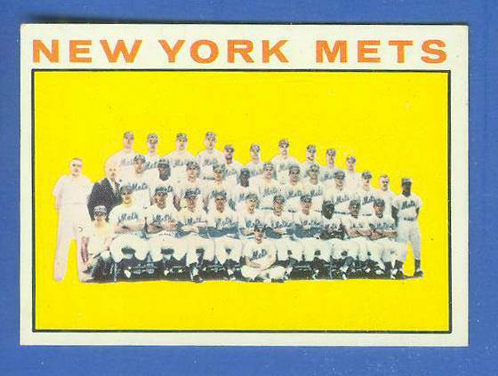 1964 Topps #.27 Mets TEAM card [#a] Baseball cards value