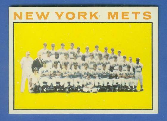 1964 Topps #.27 Mets TEAM card [#b] Baseball cards value