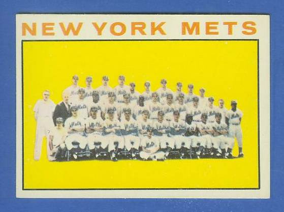 1964 Topps #.27 Mets TEAM card [#c] Baseball cards value