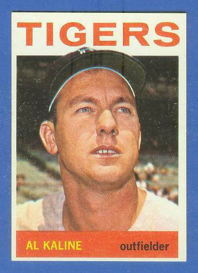 1964 Topps #250 Al Kaline [#a] (Tigers) Baseball cards value