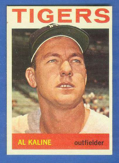 1964 Topps #250 Al Kaline [#b] (Tigers) Baseball cards value